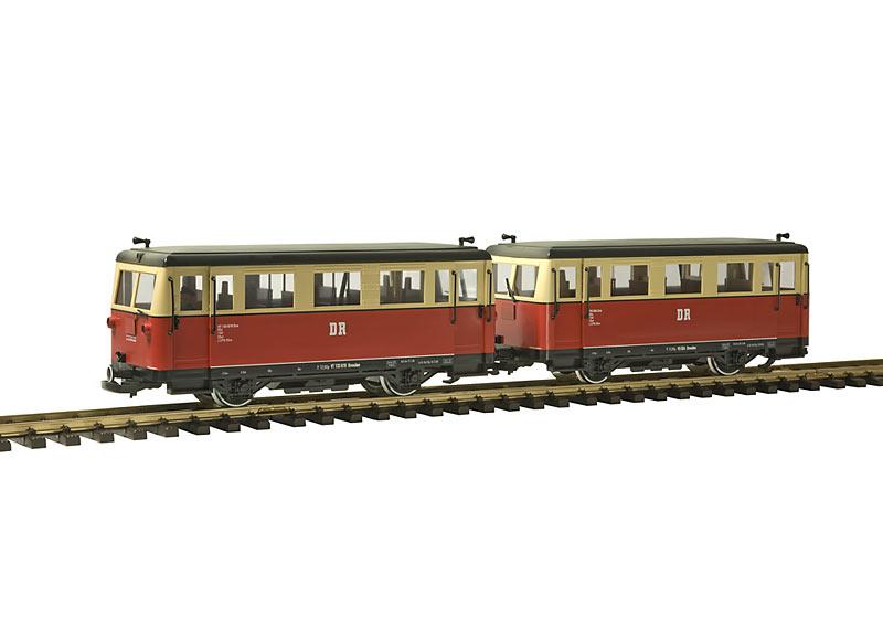DR Triebwagen + Steuerwagen VT 133