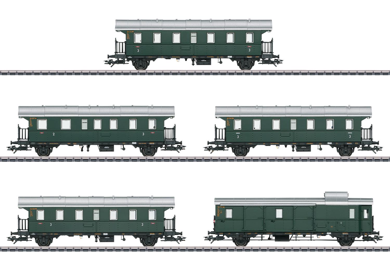 """""""Donnerbüchsen"""" / """"Thunder Boxes"""" Passenger Car Set"""