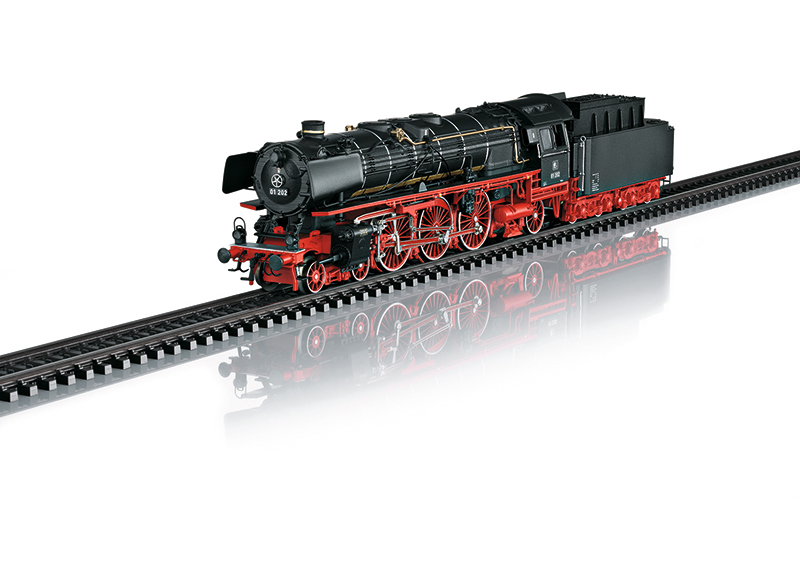 Express Steam Locomotive with a Tender, Road Number 01 202