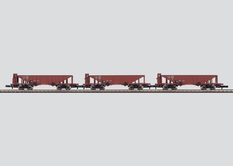 Güterwagen-Set ´Kohlentrichterwagen´