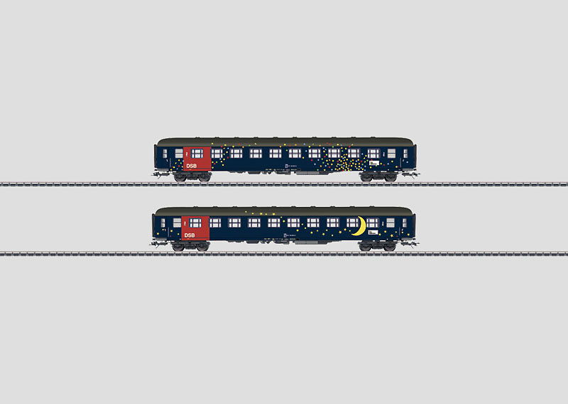Passenger Car Set.