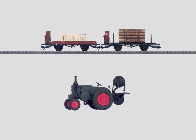 """""""Mobile Sawmill"""" Car Set."""