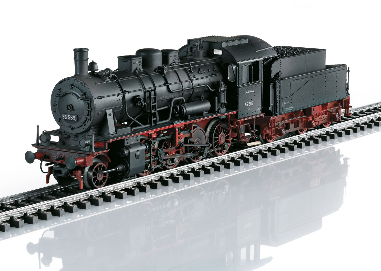 Steam Freight Locomotive