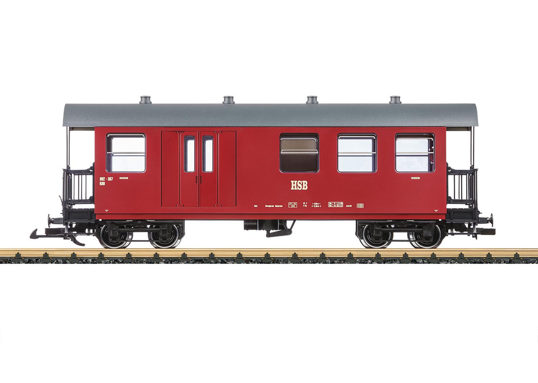 Personen-/Gepäckwagen HSB