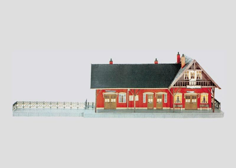 Bausatz Bahnhof Altmühlhof.