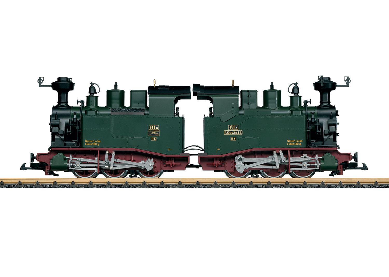Dampflokomotive Sächsische II K