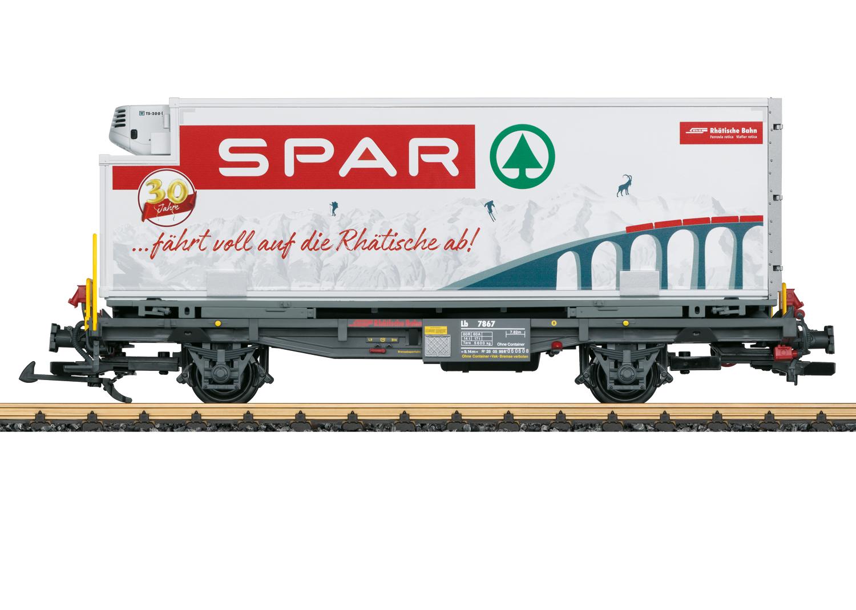 """RhB """"Spar"""" Container Car"""