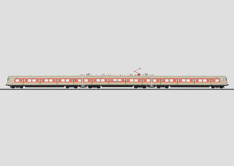 S-Bahn Powered Rail Car Train.