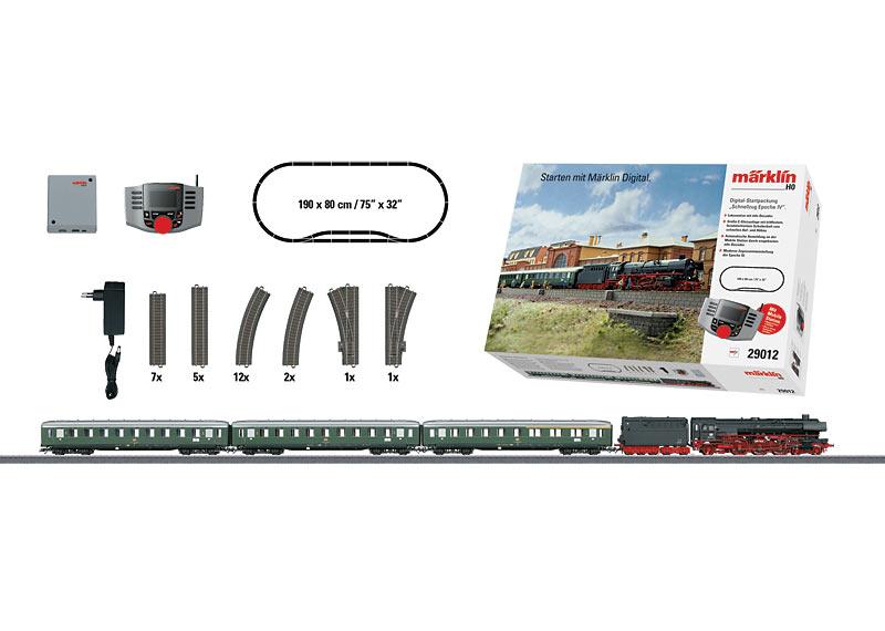 """Era IV Express Train"" Digital Starter Set. 230 Volts"