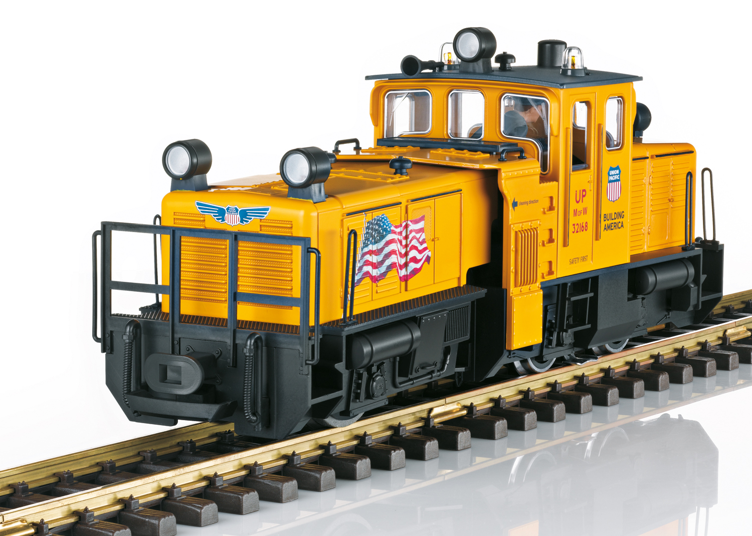 USA Track Cleaning Locomotive