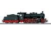 Güterzug-Dampflokomotive.