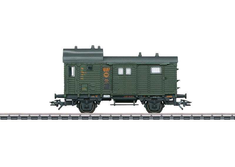 Type Pwg Pr 14 Freight Train Baggage Car