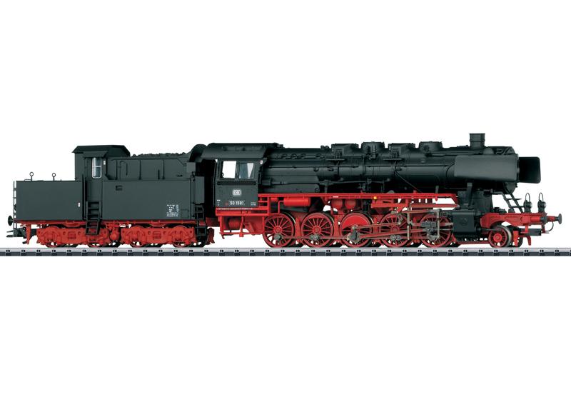 Güterzug-Dampflokomotive mit Kabinentender