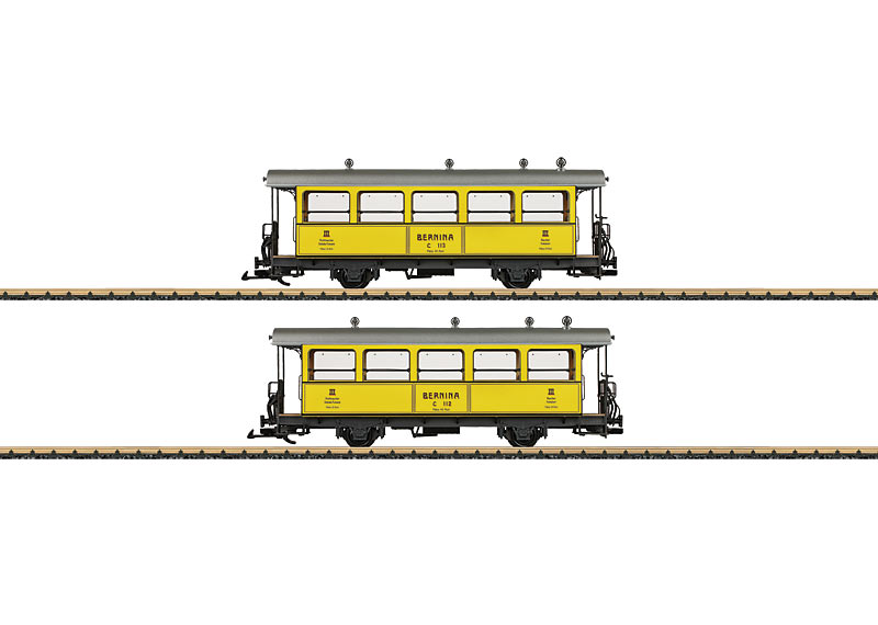 Bernina Passenger Car Set