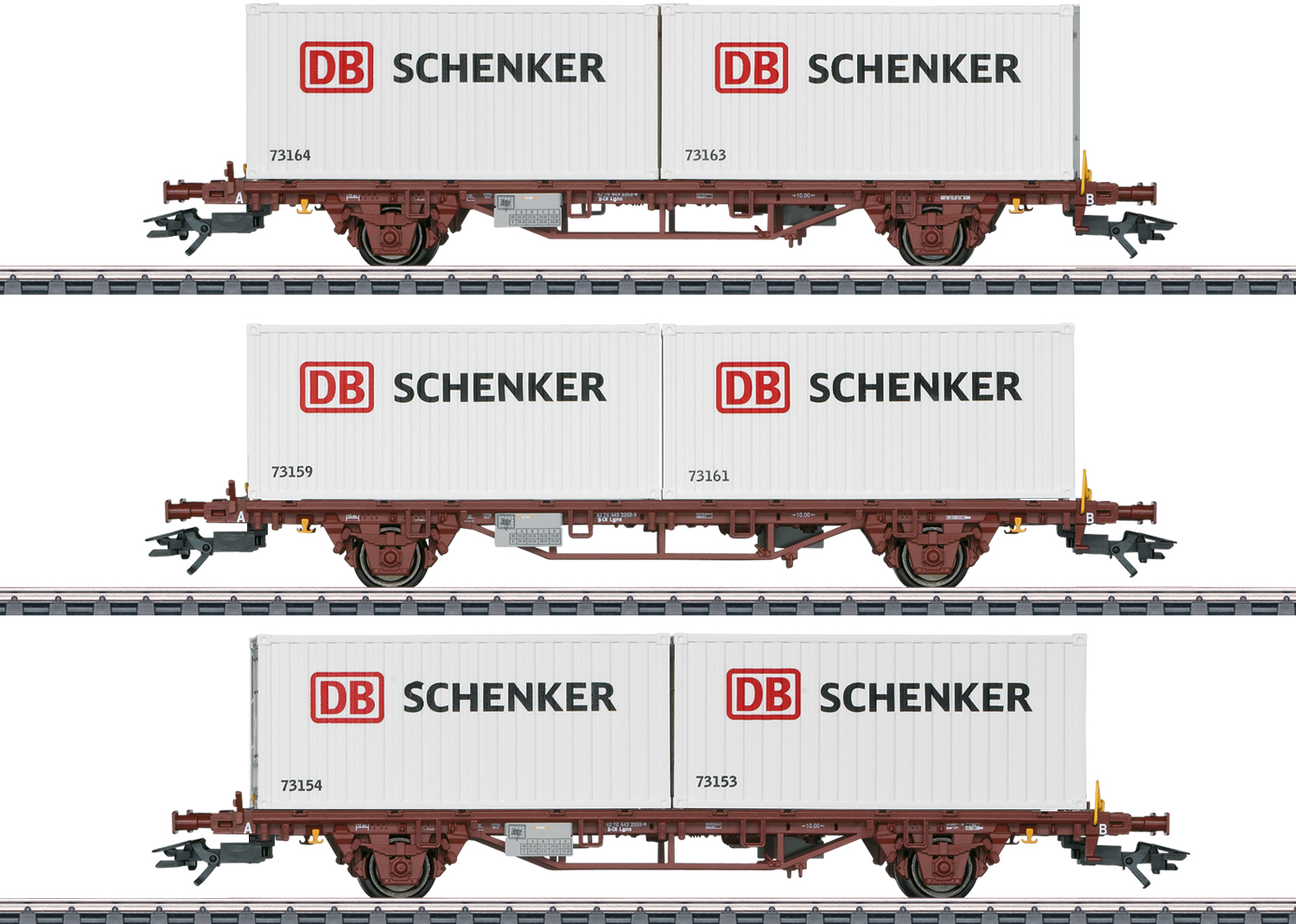 Type Lgs Container Transport Car Set