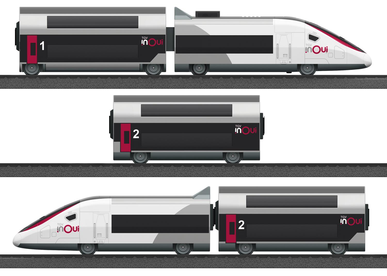 """Märklin my world - startset """"TGV Duplex"""""""
