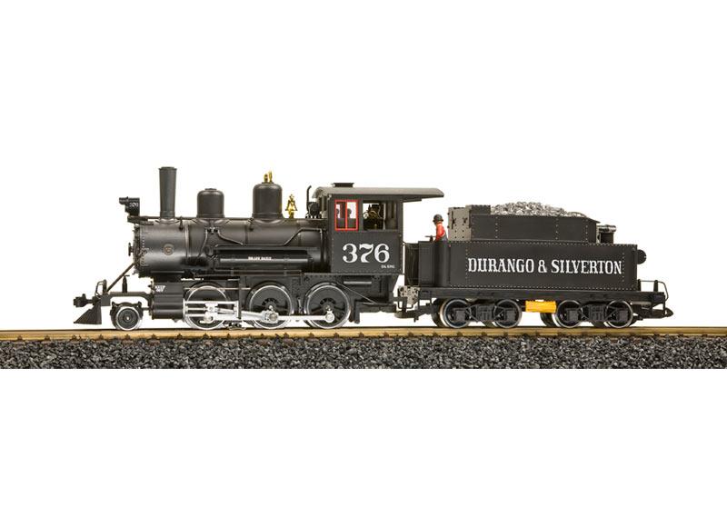 Durango & Silverton Mogul Steam Loco #376