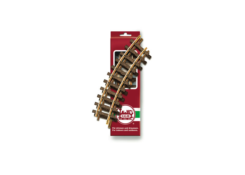 Curved Track, R1, 30°, 2 Pieces