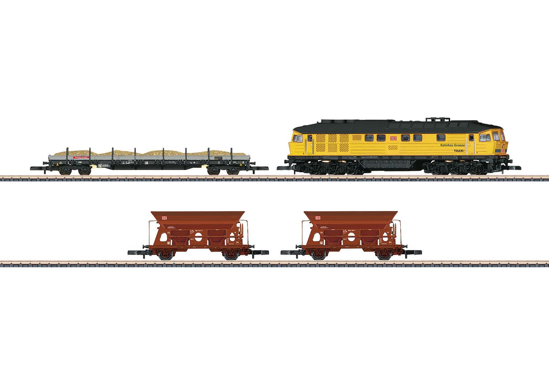 DB Construction Train Set for Track Construction
