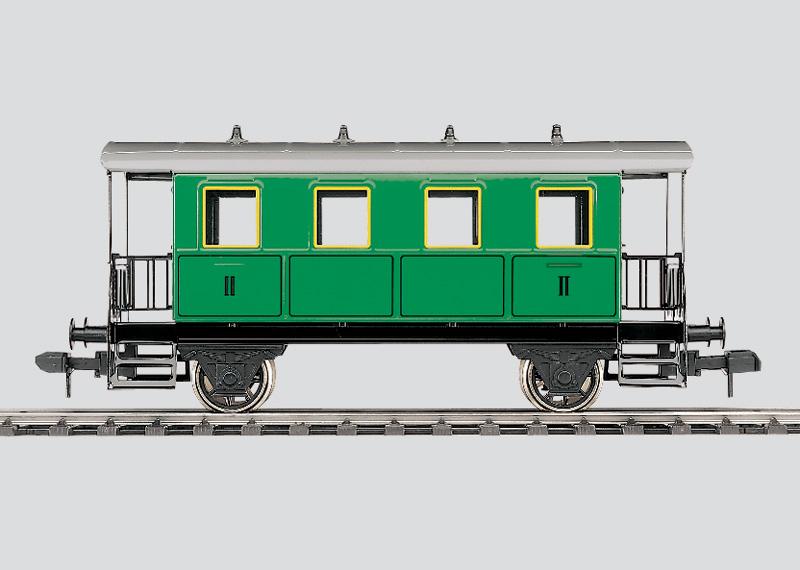 Zweiachsiger Personenwagen, 2. Klasse