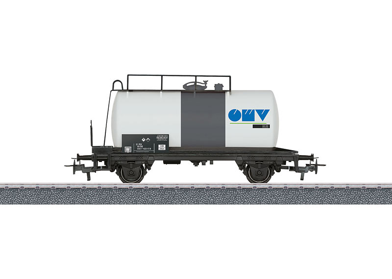Petroleum Oil Tank Car