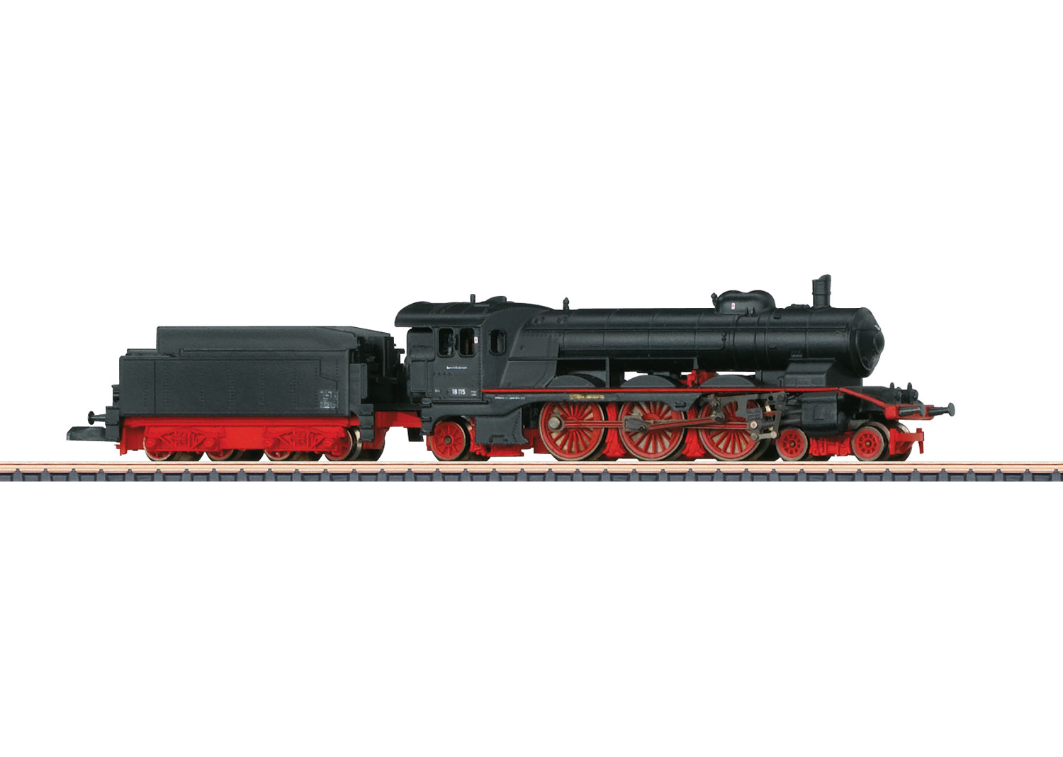 Express Locomotive with a Tender