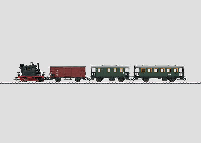 Branch Line Passenger Train.
