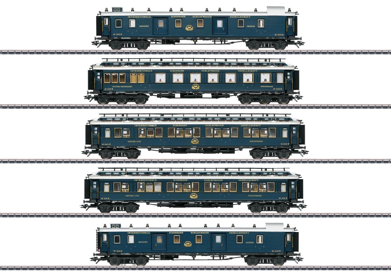 """""""Simplon Orient Express"""" Express Train Passenger Car Set 1"""