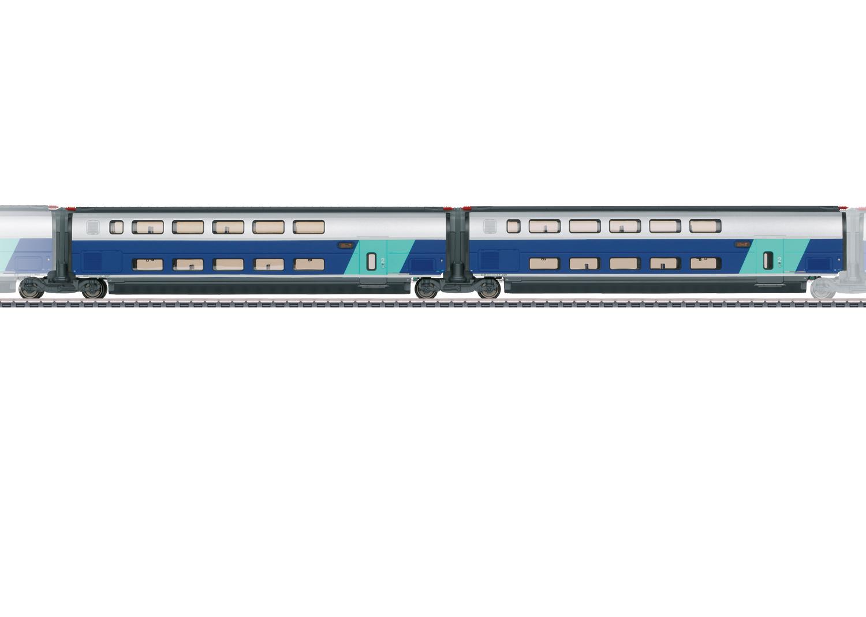 Add-On Car Set 2 for the TGV Euroduplex
