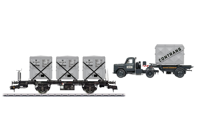 Container Transport Car Set