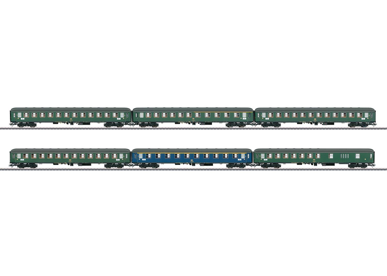 Interzone Express Train Passenger Car Set.