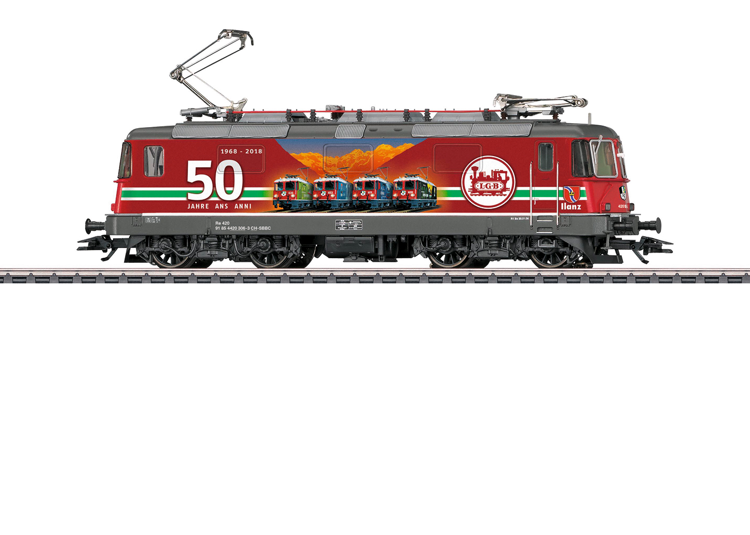 Class Re 4/4 II Electric Locomotive