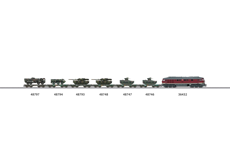 Märklin 36432 Diesellokomotive Baureihe 232 Spur H0