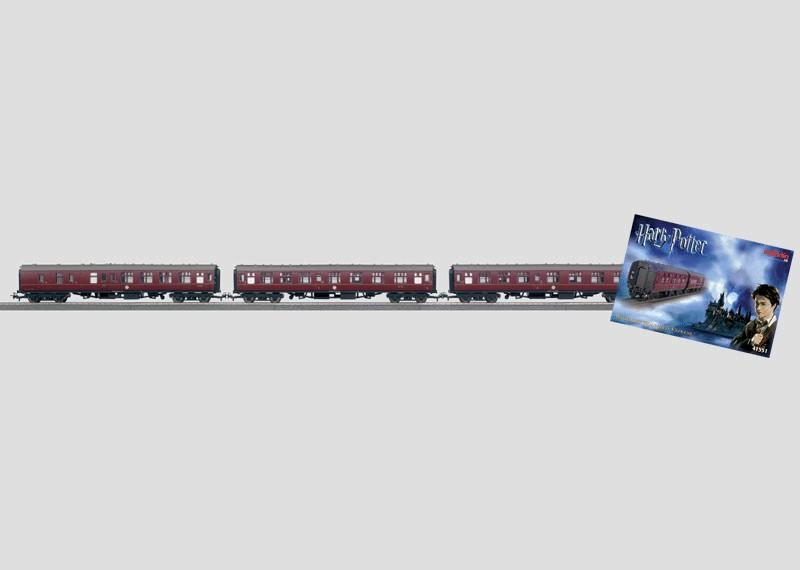 """Personenwagen-Set """"Hogwarts Express™""""."""