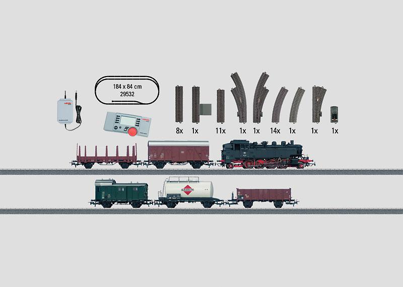 """""""Freight Train"""" Digital Starter Set, 230 Volts."""