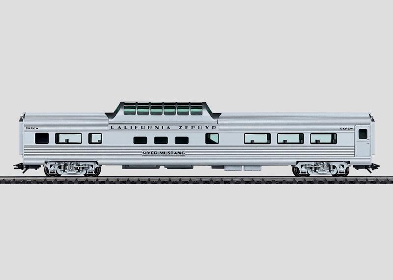 Schnellzugwagen Streamliner Vista Dome.