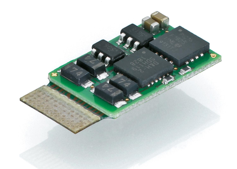 Lokdecoder 1000 mA für MTC14-Schnittstelle