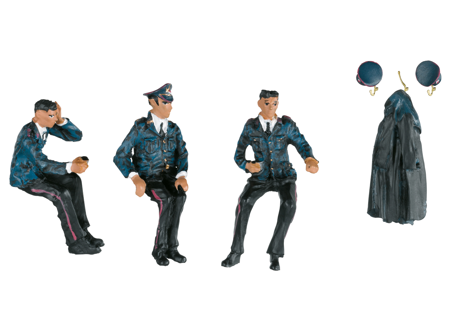 """""""Railroad Workers"""" Group of Figures"""