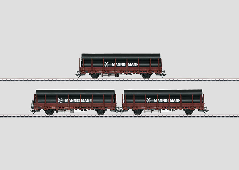 Set with 3 Stake Cars.