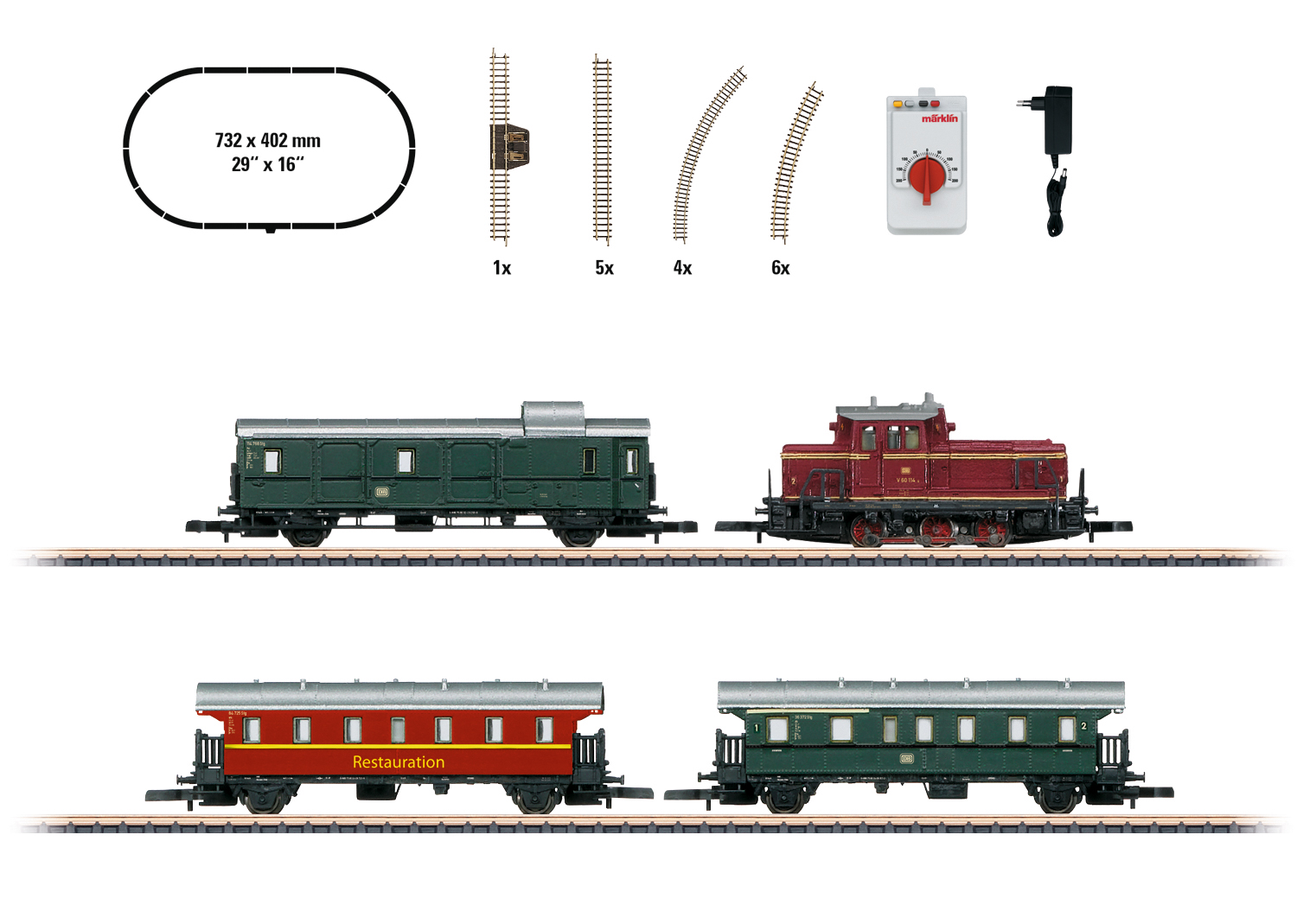 """Museum Passenger Train"" Starter Set"