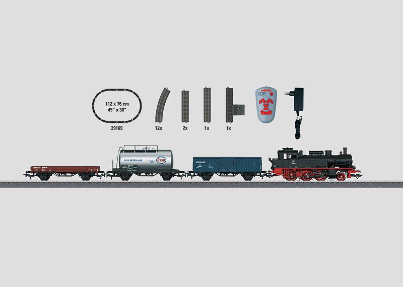 """Startpackung """"Güterzug mit Serie 59"""". 230 Volt."""