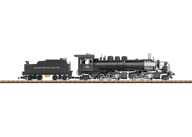 u0026quot sumpter valley u0026quot  mallet heavy steam locomotive