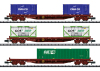 Container Flat Car Set