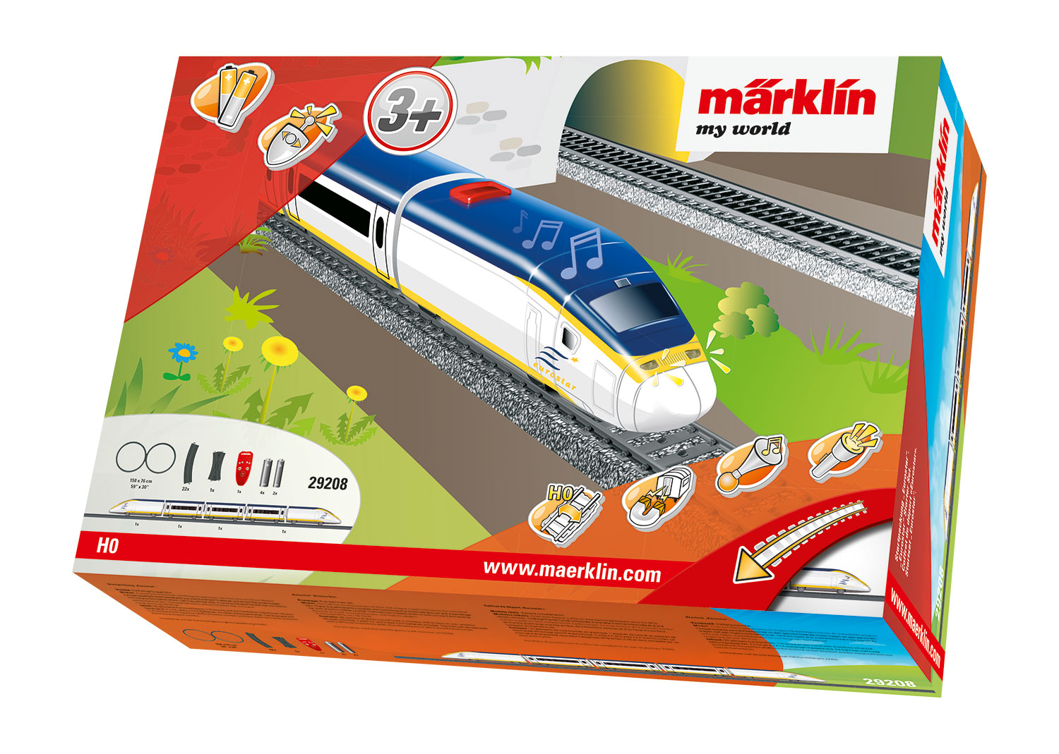 "Märklin my world - Startpackung ""Eurostar""."