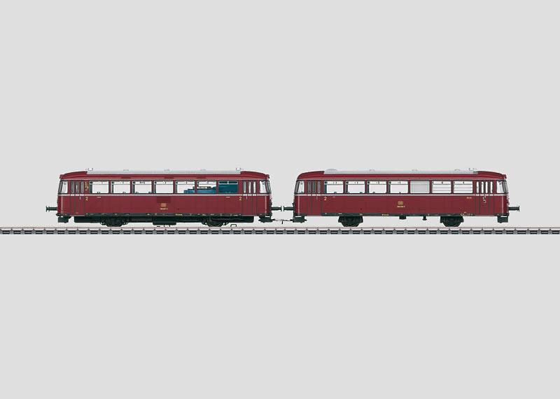Rail Bus with a Control Car.