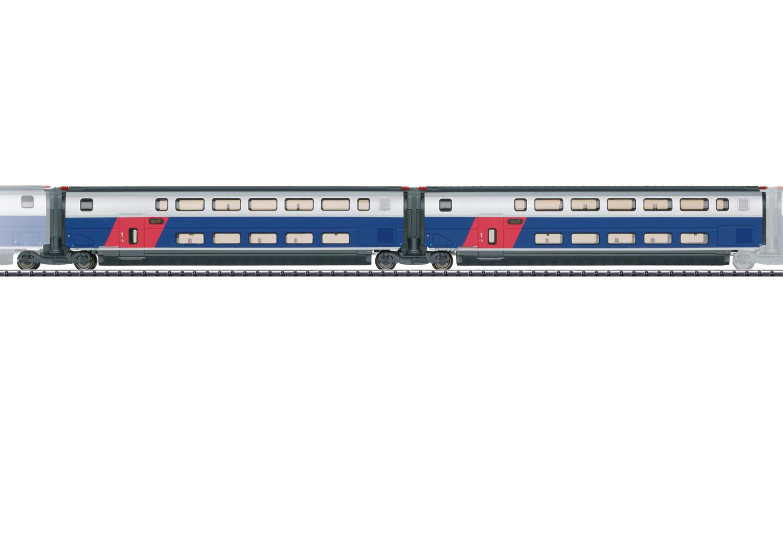 Ergänzungswagen-Set 1 zum TGV Euroduplex
