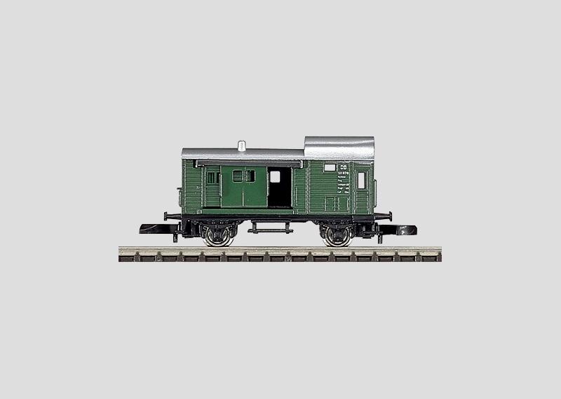 Güterzug-Gepäckwagen.