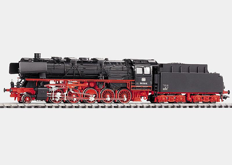 Freight Locomotive with Tender.