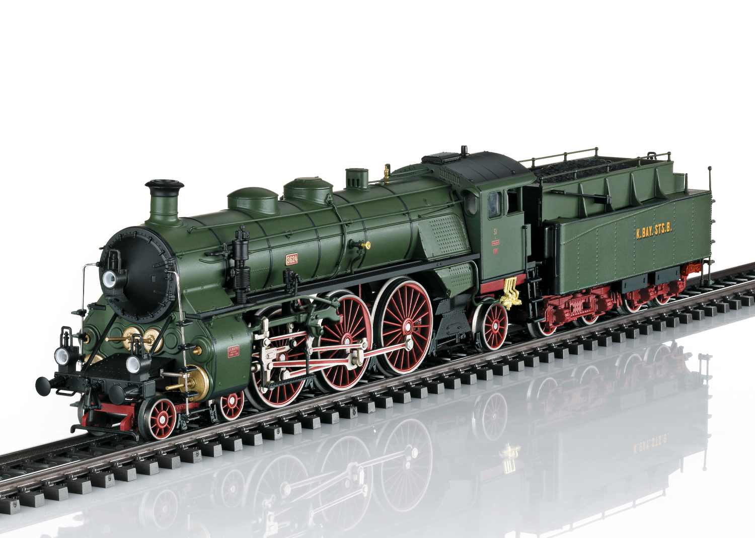 "Class S 3/6 Steam Locomotive, the ""Hochhaxige"" / ""High Stepper"""