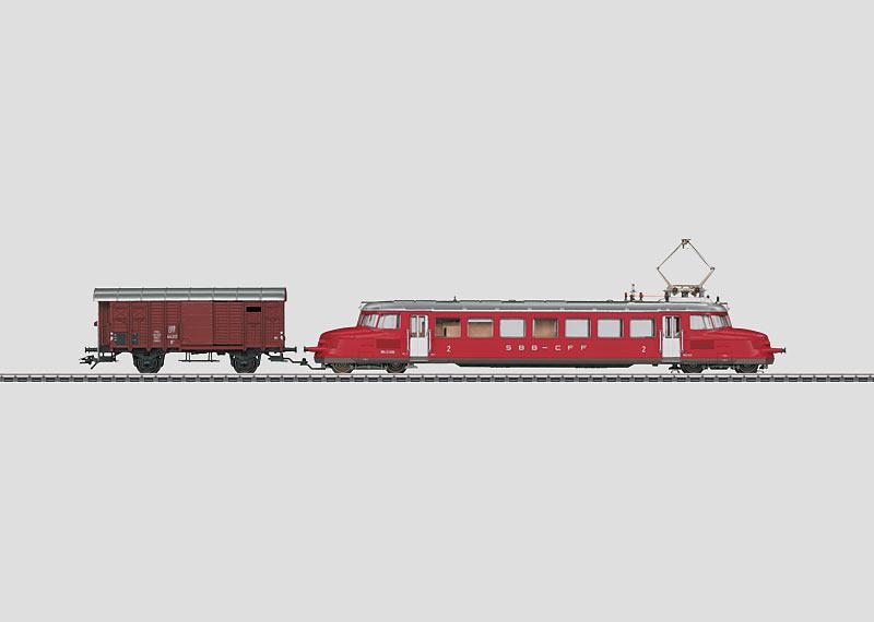 Elektrisch treinstel.